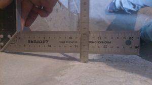 Прихожая, угол между ЦСт и Пан в комнату , лев уг = 16 мм.